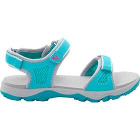 Jack Wolfskin Acora Beach Sandals Girls, aquamarine